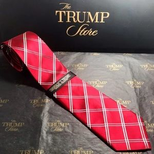 PRESIDENT DONALD J TRUMP Signature Collection Tie